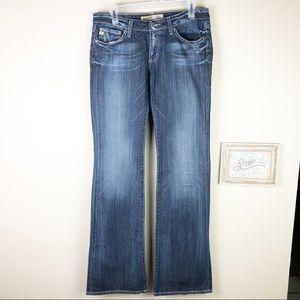 Big Star Sweet Ultra Low Rise Tall Jeans 29 x 35